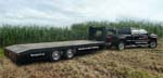 gooseneck trailer with JMR Boopark elektric brake system which, according to the latest regulations, the ECE R13, is approved.