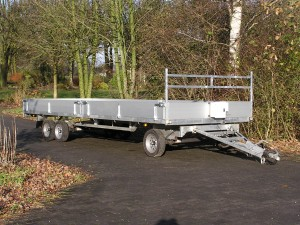 First  approved full trailer with  electric brake system with electric brakes according to ECE R13.