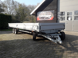 JMR Boopark with first approved full trailer with electric brake system with electric brakes.
